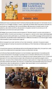 3a Conferenza Diabete Italia